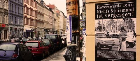 »25. Jahre nach dem rassistischen Pogrom von Hoyerswerda«