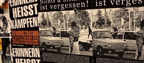 """Hoyerswerda 1991: """"Nichts & niemand ist vergessen!"""""""