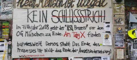 Bundesweite Aktionen zur Urteilsverkündung im NSU-Prozess – auch in Leipzig