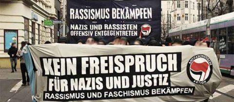 >>ABGESAGT für Donnerstag, neuer Termin Freitag<< Kundgebung: Kein Freispruch für Nazis und Justiz – Kein Neonaziangriff wird vergessen